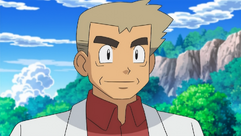 Professor Oak BW anime