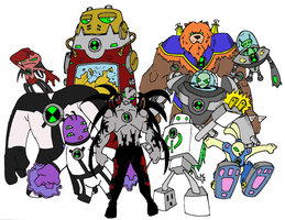 File:Last set of ben 10 aliens by bigafroman.jpg