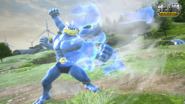 Pokkén Machamp punch flurry
