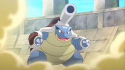 Lucario Mega Blastoise