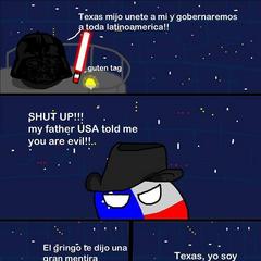Texas, yo soy tu padre
