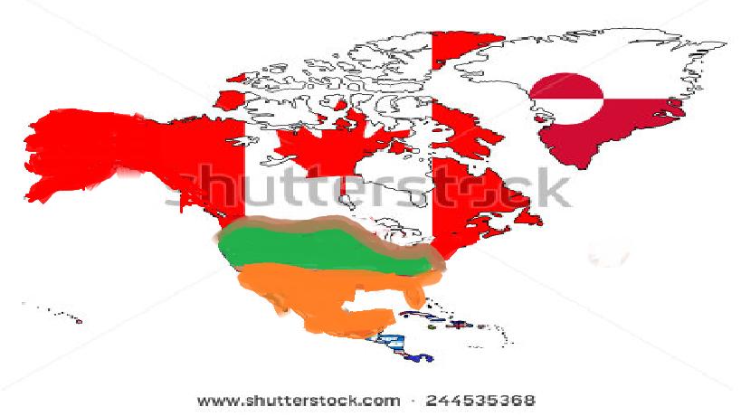 Image North America Future Mappng Polandball Wiki FANDOM - Future map of north america