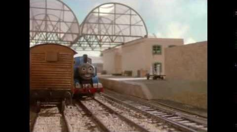 """""""It was time for Thomas to leave. He had seen everything"""""""