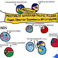 Irrelevant islands