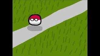 Polandball Walking Animation