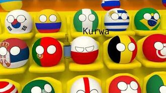 Mundial 2018 with countryballs