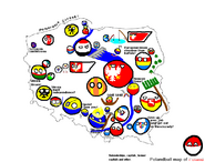 Polandball's Map