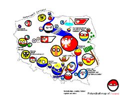 Polandball's Map