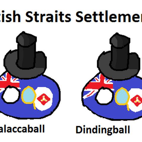 Straits Settlementballs