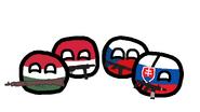 PolandHungarySlovakiaCzechRepublic