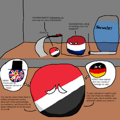 Sealand, yuo are of genius!