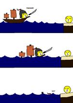 1ボール - 失敗した侵略