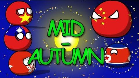 Countryballs- MID-AUTUMN FESTIVAL without CHINA - Vietnamball - Hongkongball - taiwanball