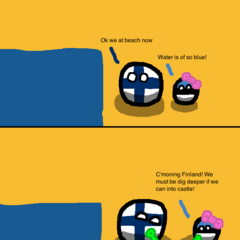 Swedenball is not a beach