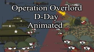 Operation Overlord - D-Day - Animated -Countryballs-