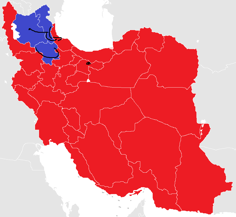 Blank-Map-Iran-With-Water-Bodies