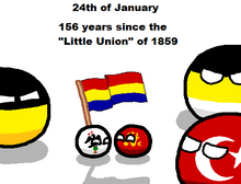 Birth of modern day Romania