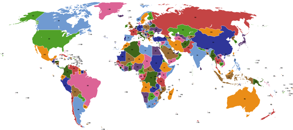 Image world map political isog polandball wiki fandom world map political isog gumiabroncs Gallery
