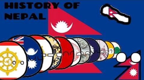 COUNTRYBALLS ИСТОРИЯ НЕПАЛА HISTORY OF NEPAL