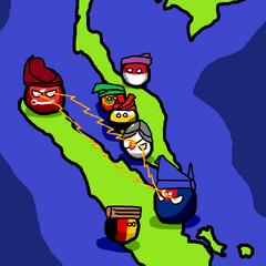Johorball during Triangular War