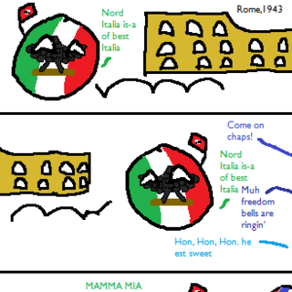 The Nazi Retreat from Italia Part 1