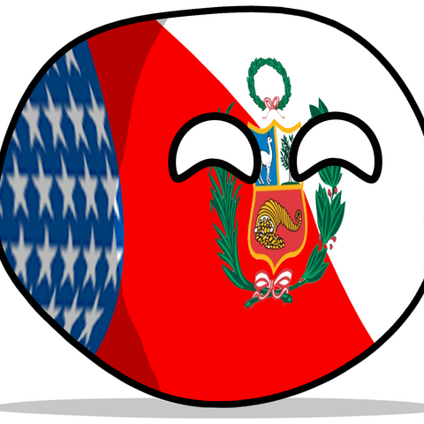 My first countryball I used as a logo