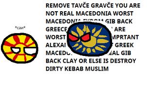 Macedonias Bickering