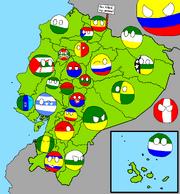 Ecuadorball map