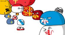 Asia Minor in 1214