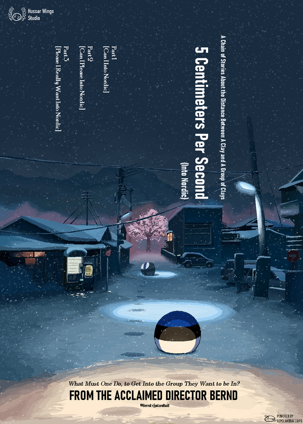 5 Centimeters Per Second Into Nordic by Diictodom