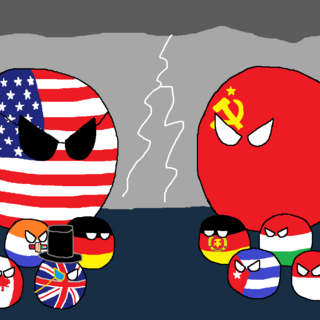 The situation during the Cold War