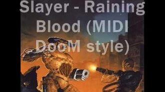 Raining Blood - Slayer (MIDI DooM style)