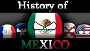 History of Mexico in COUNTRYBALLS