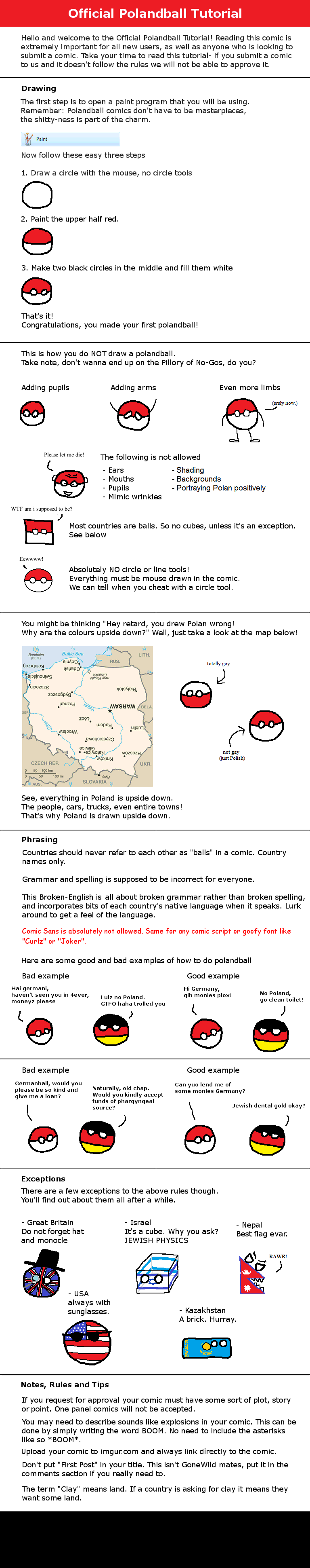 Polandball Reddit Official Tutorial Polandball Wiki Fandom