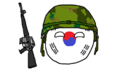 Cold War-era ROK militaryball