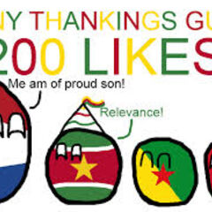 Surinameball got 200 likes