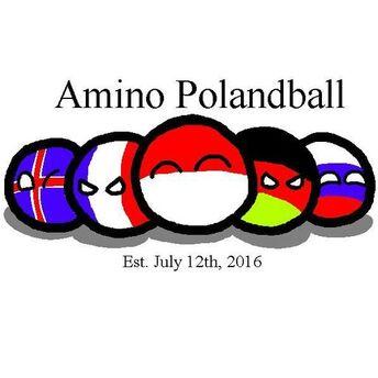Polandball amino logo
