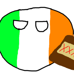 Ireland with beer