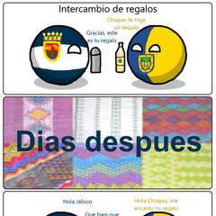 Intercambio de regalos con <a href=