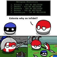 Estonia zaprzecza istnieniu