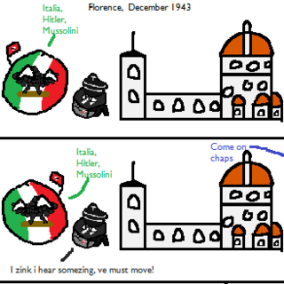 The Nazi Retreat from Italia Part 2