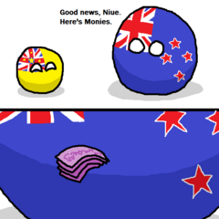 New Zealand gibs monies (brain4breakfast)