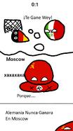 Alemania Nunca Ganara en Moscu