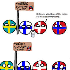 Nordic summer camp