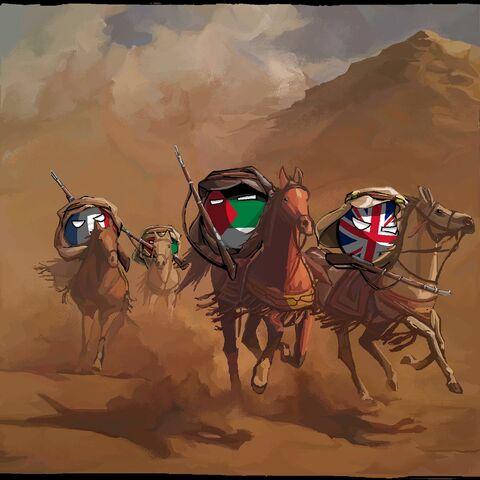 Rise of the Arab Revolt