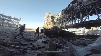 Battle of Donetsk Airport - Intense Combat Footage and Heavy Clashes Fighting War in Ukraine