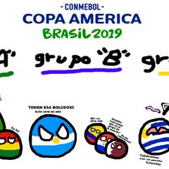 Copa America Brasil (2019) Cuál es su grupo de la muerte?