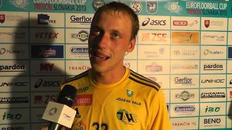 EFC 2013 Interview - Toomas Peterson (Jögeva SK Tähe)