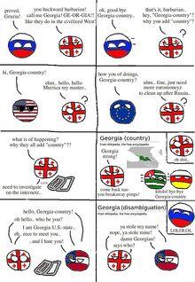 Georgia has into disambiguation