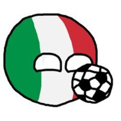 Italyball with his favorite sport, football